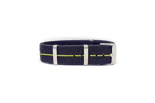 Elastic Strap Black - Yellow