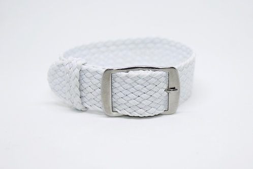Perlon Strap White