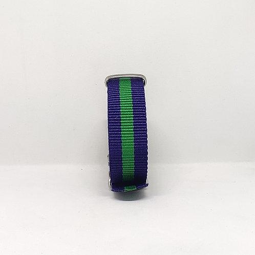 NATO Strap Dark Blue-Green