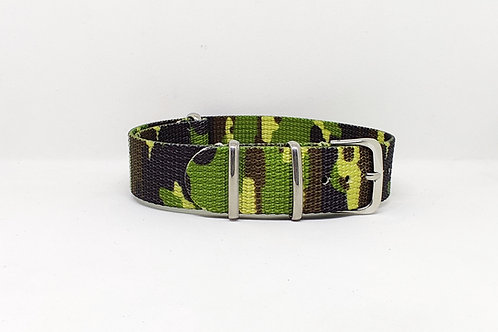 NATO Strap Green Camouflage