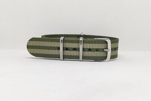 NATO STRAP Military Green - Light Green