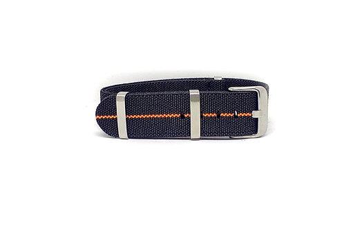 Elastic Strap Black - Orange