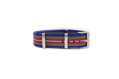 Elastic Strap Blue - Green - Red - White