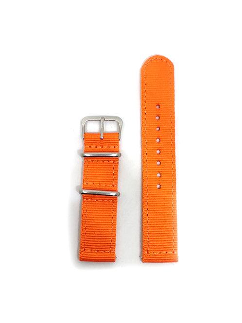 2 PC's Nylon Strap Orange