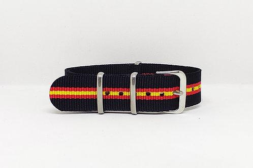 NATO Strap Black-Red-Yellow