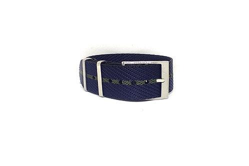 Seat Belt NATO Navy Blue - Olive Green