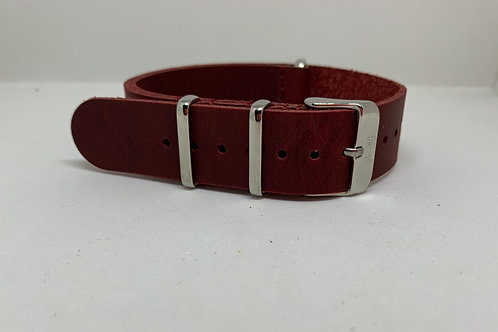 Nato Leather Red