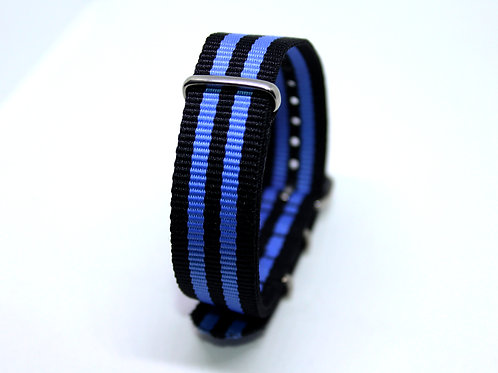 Nato Strap Blue-Black