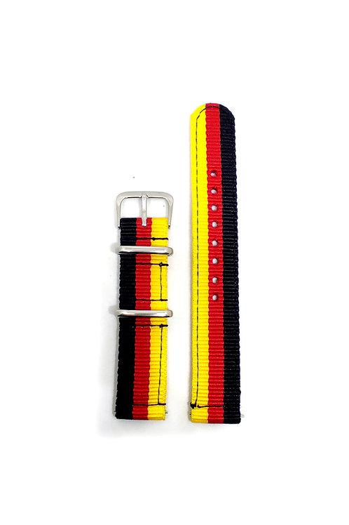 2 PC's Nylon Strap Germany Flag