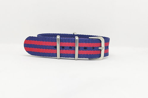 NATO Strap Dark Blue-Red