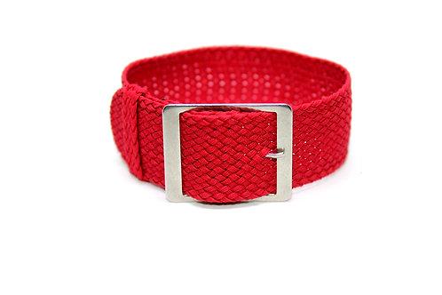 Perlon Strap Cherry Red