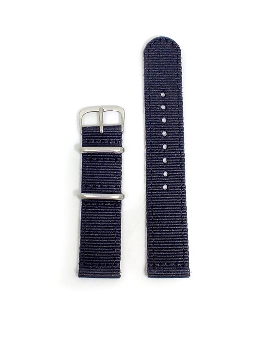 2 PC's Nylon Strap Black