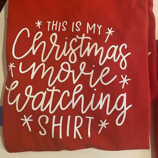 Christmas Movie Ladies T-shirt