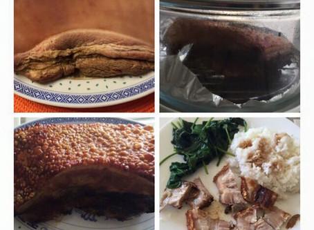 Roasted Crispy Skin Pork by Cathy Bui