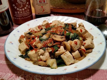 Tofu Stir Fry with Crab by Scott Mcintire