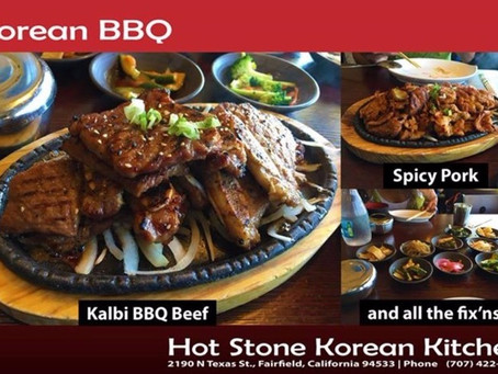 Hot Stone Korean Kitchen - Fairfield, CA