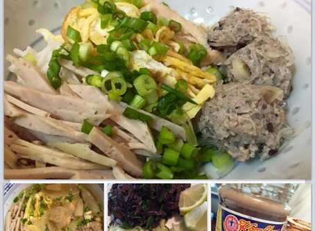 Bun Thang - Healthy Chicken Broth for Noodles by Trami Nguyen Cron