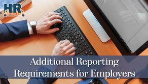 Additional Reporting Requirements for Employers