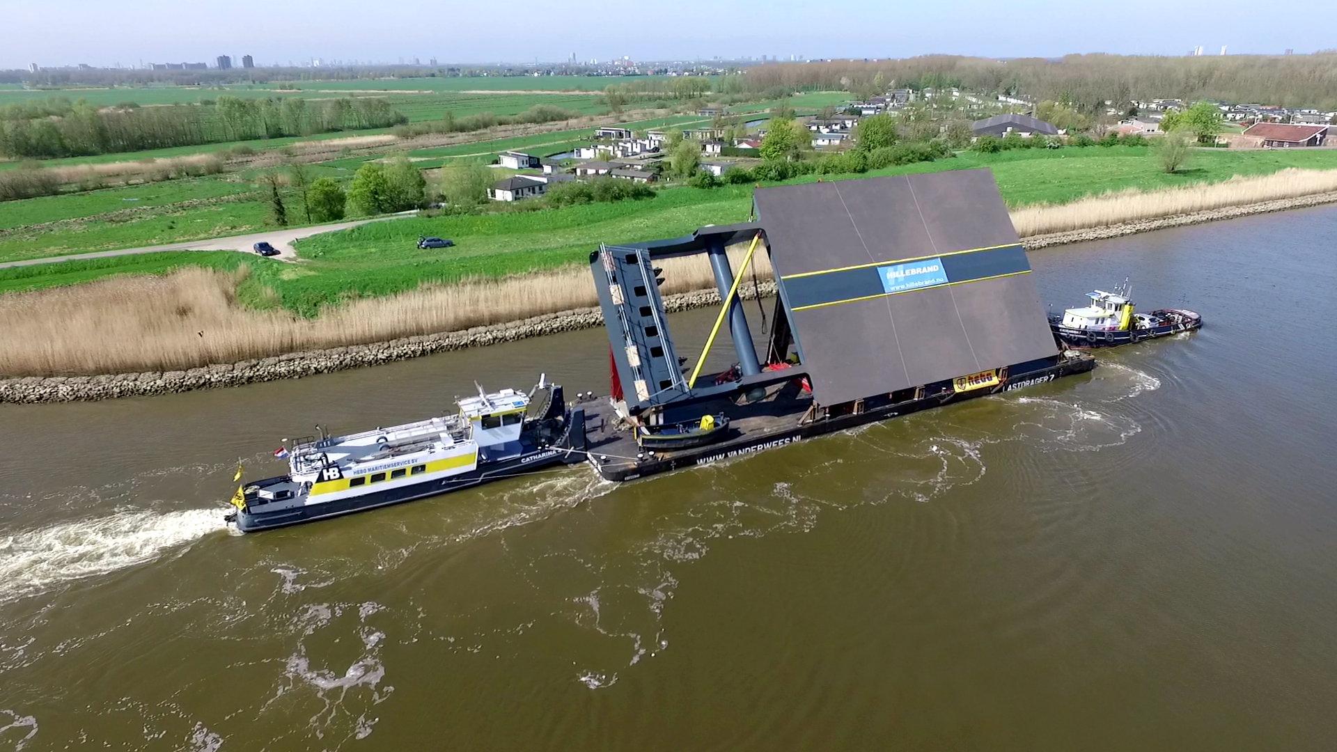 Nieuw brugdek over Gouwe