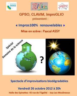 2012 - Impros 100% renouvelables