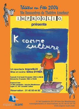 2004 - K comme culture ...