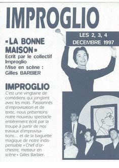 1997 - La bonne maison