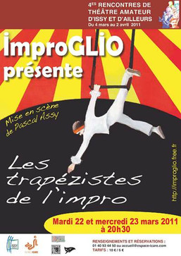 2011 - Les trapézistes de l'impro