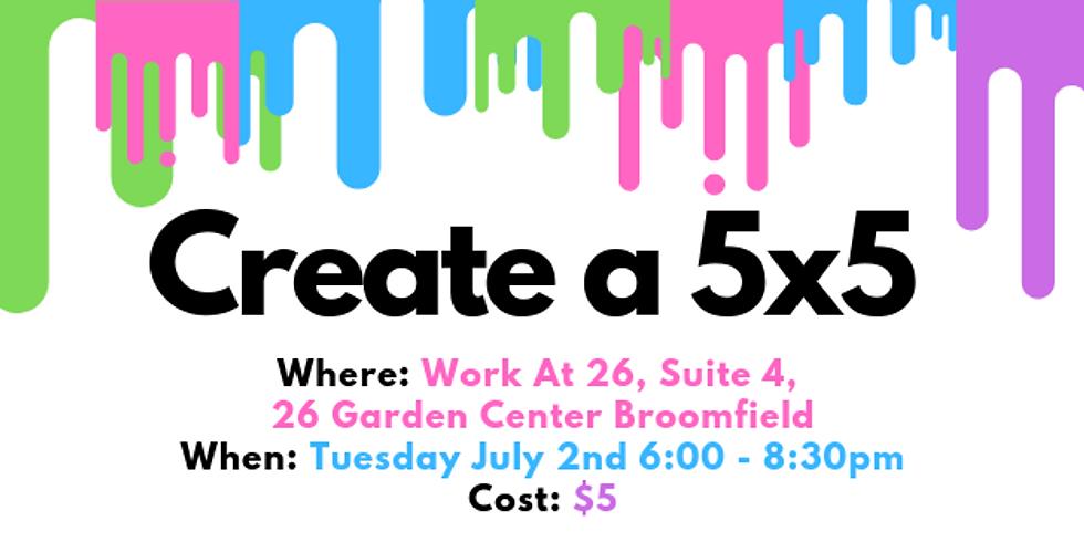 Create a 5x5
