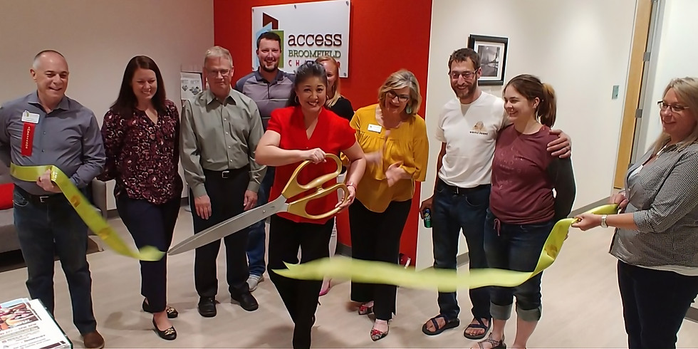 Solopreneur Ribbon Cutting with the Broomfield Chamber