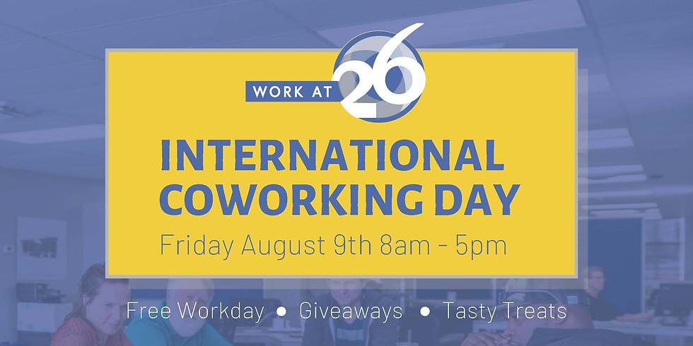 International Coworking Day Celebration!