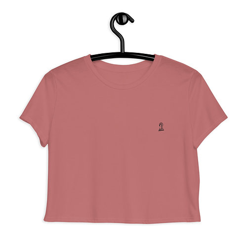""" i "" InTegrity"" Woman's Crop Tee"