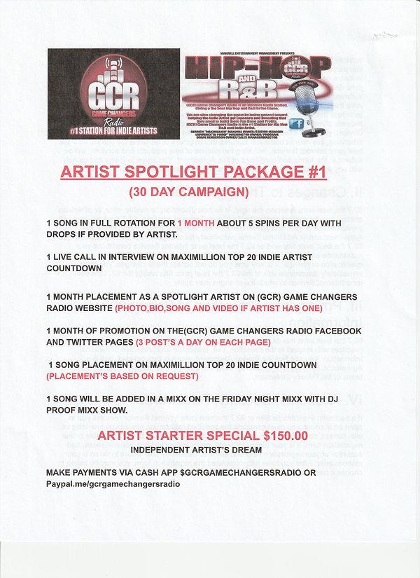 ARTIST SPOTLIGHT PACKAGE   #1.jpg