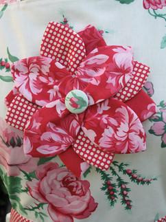 Flower Apron Close-Up