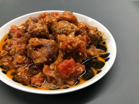 日本で作れるスペイン料理アルボンディガス!