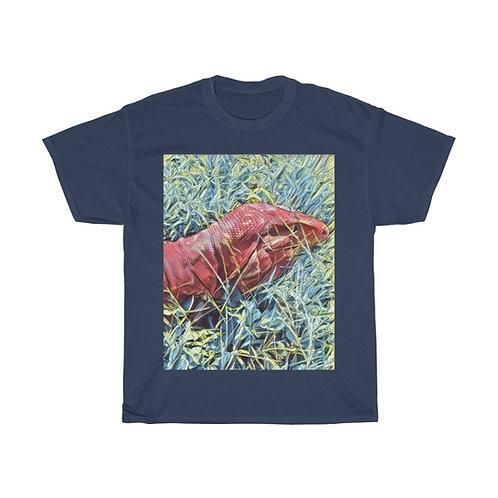 Red Tegu Mens  Cotton Tee Shirt,Tegu, Lizard, Reptile, Tee Shirt