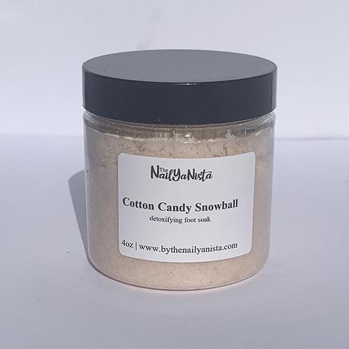 Cotton Candy Snowball Soak