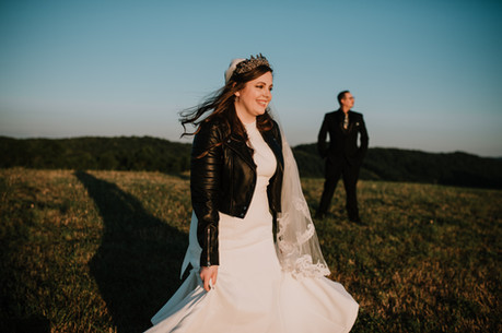 Bride at Cole's Green Acres in PA