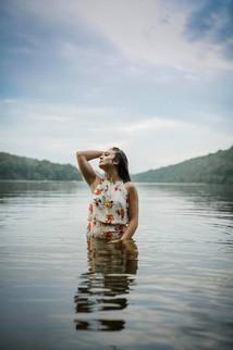 Senior Portraits Cheat Lake WV