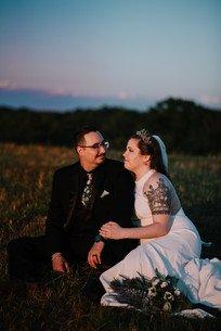 PA wedding at Cole's Green Acres