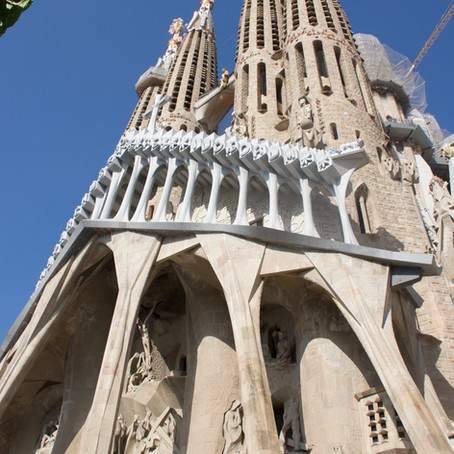 Oh my Gaudi... Barcelona