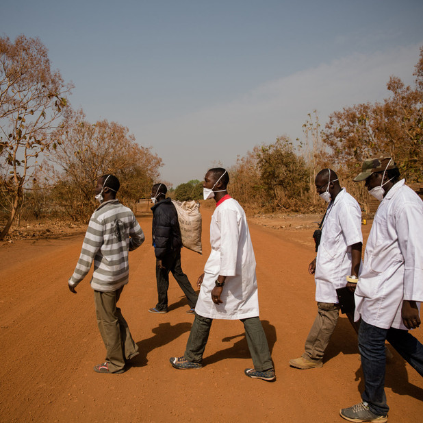In a remote West African village, a revolutionary genetic experiment is on its way--if residents agree to it