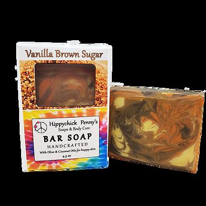 Vanilla & Brown Sugar  Bar Soap