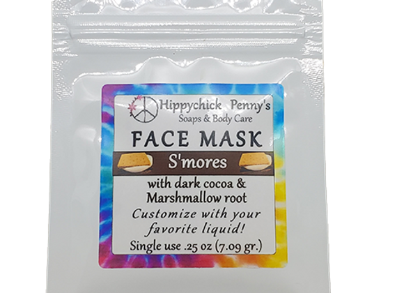 S'mores single use face mask