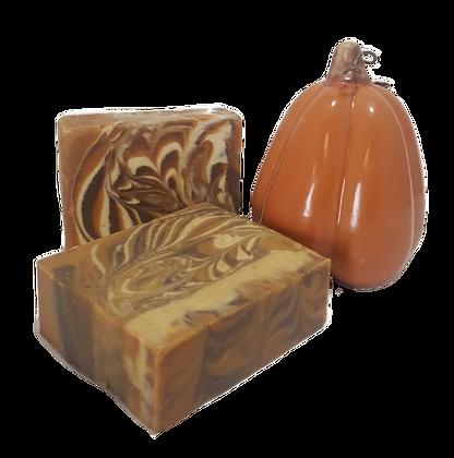 Madagascar Vanilla & Brown Sugar with pumpkin Bar Soap