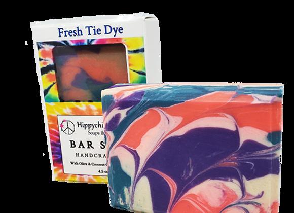 Fresh Tie dye Bar Soap