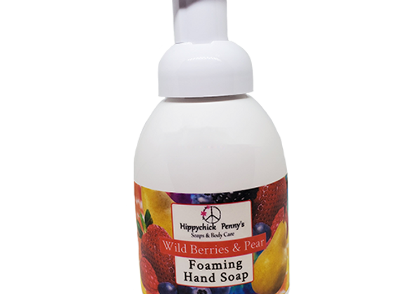 Foaming Hand Soap-Wild Berry & Pear