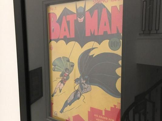 Batman #1 Framed by ECC Frames