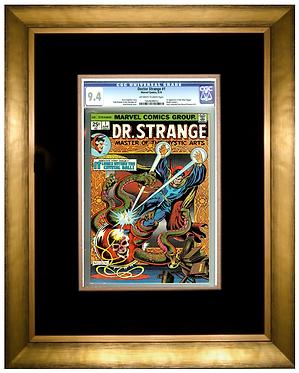 Premium Graded Comic Frame