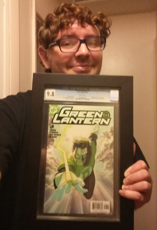 2016 Cincy Comicon Free Frame Giveaway Winner Ray Colvin!