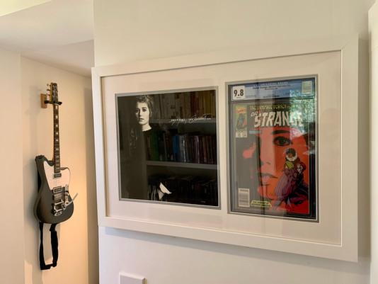 CGC 9.8 Dr. Strange & Amy Grant LP Framed by ECC Frames
